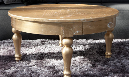 Stolik złocony